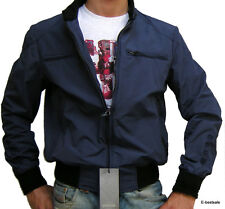 Giacca Giubbotto Blu Brema Jacket Men TG 48-50-52