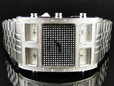 Mens Techno Com KC Joe Rodeo 5 Timezone Master W5T40M Diamond Watch .50 Ct