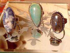 Labradorite Silver Plated Fine Earrings