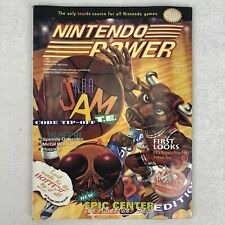 Nintendo Power Volume 70 NBA Jam Tetris Bubsy CES Poster March 1995