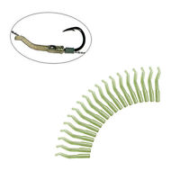 50pcs 23 Mm Fishing Accessories Swivel Fish Tool Tackle Hook Sleeve Tube