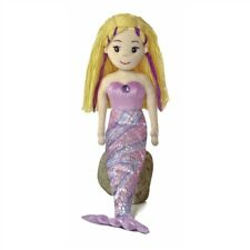 "18"" Sea Sparkles Mermaid Serena Soft Doll - Toy Aurora Plush New Cuddly Gift"