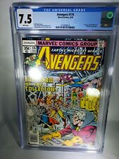 Avengers #174 CGC 7.5  1978 2110009014 white pages