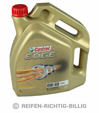 Motoröl Castrol Edge Titanium FST 0W-40 HC-Synthese 5 Liter 5L