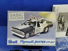 1970 Plymouth Duster Funny Car COP OUT Drag Car  Revell 1/24 Model Kit New