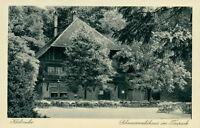 Ansichtskarte Karlsruhe Schwarzwaldhaus im Tierpark  (Nr.9192)