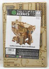 TTCombat TTSCW-SFG-043 Gothic Ruined Opus Aedificium (Sci-Fi Gothic) Terrain Kit