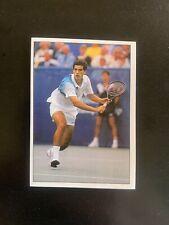 PETE SAMPRAS - Rookie, Panini Tennis 1994 #186, Rare Sticker. MINT, ATP Tour USA