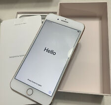 Apple iPhone 8 Plus 256GB Rose Gold (Unlocked) A1897 W Box & Bonus- Excellent !