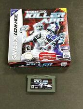 Tron 2.0: Killer App (Nintendo Game Boy Advance GBA) Box and Cart