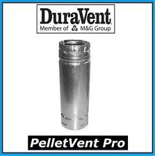 "DURAVENT PELLETVENT PRO Pipe Extension 4"" Diameter x 18"" Long #4PVP-18A NEW!"