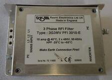 Rasmi Electronics 3Phase RFI Filter / Inverter / Type: 3G3MV PFI 3010-E (D.255)