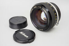 Nikon Nikkor Ai 55mm f/1.2 f1.2 Ais Manual Focus Prime Lens, For Nikon F Mount