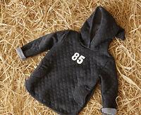 Baby Kids Boy Girl Hooded Autumn Spring Sports Jacket Coat Sweater Jumper 1-6Y