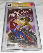 Amazing Spider-Man #25 CGC SS 9.6 SIGNED John Romita Sr ASM #39 Homage Alex Ross