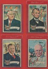 1952  BOWMAN   U.S,  PRESIDENTS   ( 20  CARD  LOT )  !!