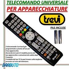 TELECOMANDO UNIVERSALE PER TELEVISORI TREVI - INVIARE MODELLO DEL TV/DECODER