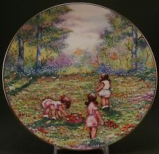 """Dominic Mingolla – Calhoun's Plate Collector's Club """"Picking Flowers"""" - 1977"""