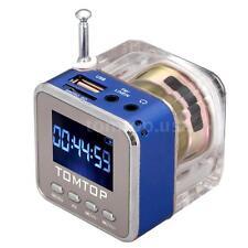 Mini Digital Portable Music MP3 Player SD USB Disk TF Radio Speaker FM Radio TA