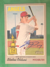 2019 Topps Heritage Shohei Ohtani Autographed Rookie Cup Variation RC SP SSP
