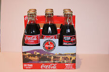 6 PK COCA COLA COMMEMORATIVE BOTTLE & CARRIER 100 YEARS IN CHATTANOOGA 1899-1999