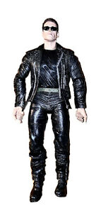 NECA Terminator 2 Action Toy Figure T-800 Pescadero Escape Arnold Schwarzenegger