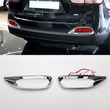 ABS Chrome Rear Tail Fog Light Frame Lamp Cover Trim For KIA Sorento L 2016 2017