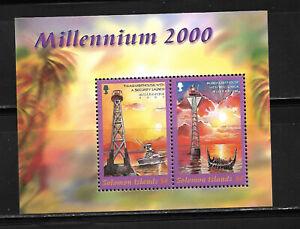 ISLAS SOLOMON 2000, HOJA BLOQUE  MILLENNIUM.  MNH.