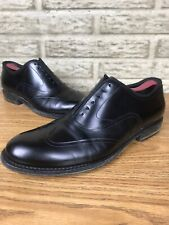 Mens Dolce Gabbana Formal Black Wingtip Oxfords Sz 7 4014