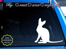 Cornish Rex Cat -Vinyl Decal Sticker -Color -High Quality