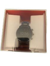Fossil Men's Grey Gen 4 Explorist Stainless Steel Touchscreen Smartwatch Sealed