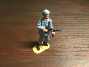 "Timpo New Zealand WW2 German  - Rare American ""G.I."" Grey Helmet - 1970s"