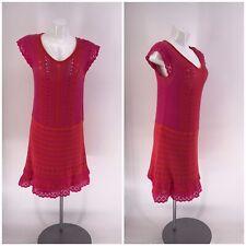 NANETTE LEPORE DRESS Sweater 2-Piece Short Sleeve M
