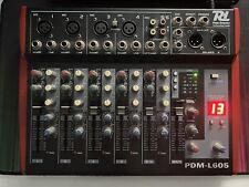 Power Dynamics PDM-L605 6-Kanal Mischpult