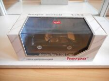 Herpa Mercedes E 320 COupe in Dark Green on 1:43 in Box