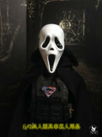 """1/6 Scale Hot Scream Mask For 12"""" Action Figure"""