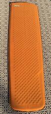 Thermarest Air mattress orange insulated sleeping mat ultralight self inflating