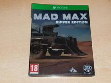 Mad Max Xbox One Limited Steelbook Ripper Edition **FREE UK POSTAGE**