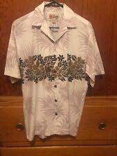 Vintage Hilo Hattie Hawaiian Shirt Size Med Mens Hawaii