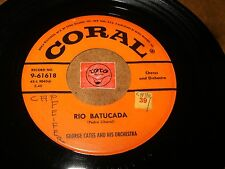 GEORGE CATES - RIO BATUCADA - MOONGLOW AND PICNIC  - LISTEN / LATIN JAZZ POPCORN