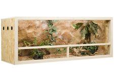 Holz Terrarium 150 x 60 x 60 cm aus OSB Platte, Seitenbelüftung