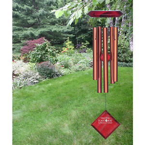 "Woodstock CHIMES OF MARS BRONZE WIND CHIMES, Total Hanging Length 17""        #dm"
