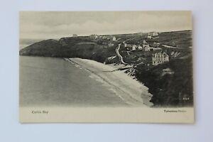 Vintage Postcard - Carbis Bay , Nr St Ives , Cornwall .