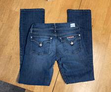 Hudson Women's Jeans Size 25 Beth Baby Boot Cut Flap Pockets Medium Wash Denim