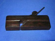 Woodworking tools,ebony flat-profile shoulder plane KO1085-033