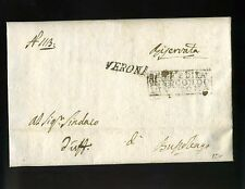 1813 REGNO Napol.lettera VERONA-BUSSOLENGO-GIUDICE PACE circondario ESTERNO-i463