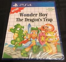 LIMITED RUN GAME #73 - WONDER BOY THE DRAGON'S TRAP (PS4) FACTORY SEALED NEW