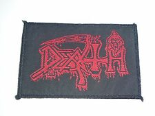 DEATH OLD LOGO WOVEN PATCH