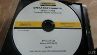 NEW HOLLAND H7230 H7330 MOWER CONDITIONER MANUAL ON CD DN114