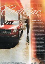F- Publicité Advertising 2008 Cadillac CTS